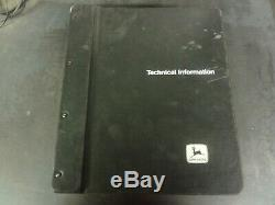 John Deere 5210 5310 5410 5510 Tractors Technical Manual TM1716