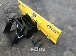 John Deere 54 Blade And Quick Hitch 425 445 455 Tractors