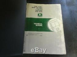 John Deere 6100 6200 6300 6400 Tractors Technical Manual TM4487