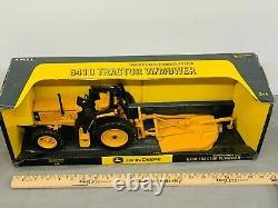 John Deere 6410 Tractor with Mower Industrial Die-Cast Metal Toy 116 NIB
