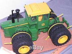 John Deere 7520 4WD Tractor PRECISION ENGINEERING 116 Toy CUSTOM Fat Duals