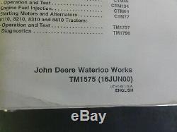 John Deere 8100 8200 8300 8400 8110 Tractors Repair Technical Manual TM1575