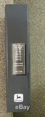 John Deere 8110-8210-8310-8410- Tractors Diagnostic Technical Manual Tm1796
