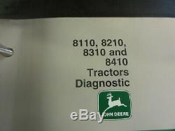 John Deere 8110 8210 8310 8410 Tractors Technical Manual TM1796