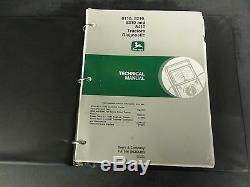 John Deere 8110 8210 8310 and 8410 Tractors Diagnostic Technical Manual TM1796