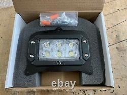 John Deere 850/ 950/ 1050 Tractor LED Front Headlight with Mounting Hardware PAIR