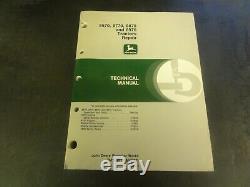 John Deere 8570 8770 8870 and 8970 Tractors Repair Technical Manual TM1549