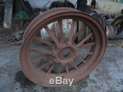 John Deere A rear Flat spoke Wheel Rim