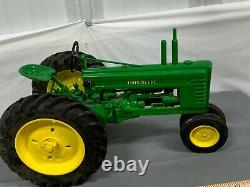 John Deere B Two Cylinder Tractor LARGE 18 Toy Tractor Die-Cast Heavy! No Box