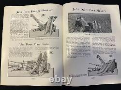 John Deere Farm Equipment for use with Caterpillar Tractors Brochure Catalog