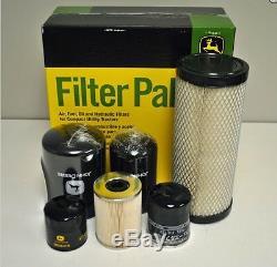 John Deere Filter Kit 4000 Series Compact Utility Tractors #LVA21039