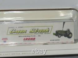 John Deere Green Streak Pulling Team Kenworth Semi SpecCast 164 NIB Boyd Sons
