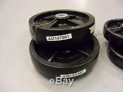 John Deere Guage Wheels 60 Inch Deck Am107561 Am107560 Tractor Compact Mower