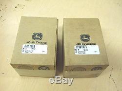 John Deere H Pistons. 030 H810R AH1047R HN HNH HWH One Pair, OEM John Deere