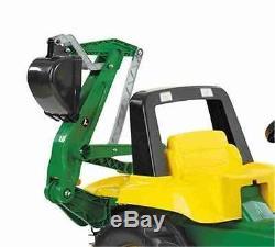 John Deere Kids Rolly Pedal Tractor & Loader & Digger