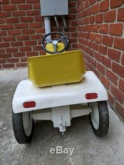 John Deere LGT Pedal Tractor Ertl Yellow Patio