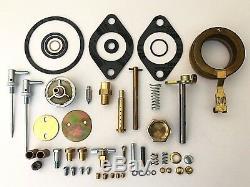 John Deere Late B Tractor DLTX67 Carburetor Major Repair Kit with Float
