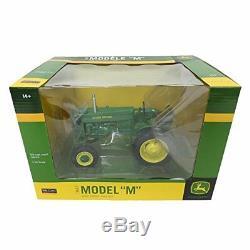 John Deere M Gas Wide Front Tractor 116 SpecCast Model JDM252