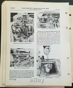 John Deere Model B Tractors Service Manual SM-9-29-48 1948