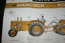 John Deere New Earthmoving Team 820 720 Tractors Hancock Scrapers Brochure 1958