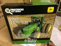 John Deere Precision Key 4960 Tractor. Unopened, nice box ERTL 116 TBE45238