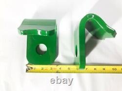 John Deere Quick Attach Bucket Weld On brackets 200 300 400 500 Series GREEN