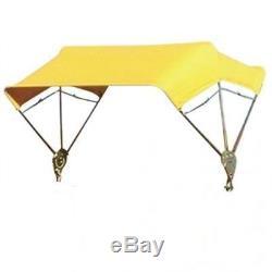 John Deere TRACTOR & Mower Umbrella BUGGY TOP 3 BOW 40 Frame & Yellow Cover