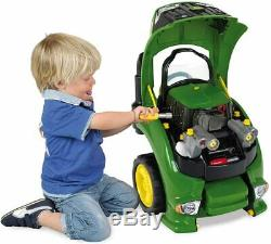 John Deere Toy Tractor Engine with 56 Repairable Parts