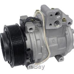 John Deere Tractor AC A/C Compressor With Clutch ReplacesDenso 10PA15C Type