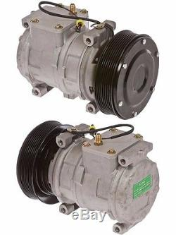 John Deere Tractor AC A/C Compressor With Clutch ReplacesDenso 10PA17C Type