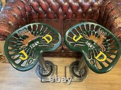 John Deere Tractor Seat Bar Stools Breakfast Bar, Pub, Man Cave Seat