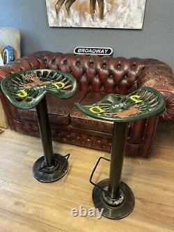 John Deere Tractor Seat Bar Stools Breakfast Bar, Pub, Man Cave Seat, Chair
