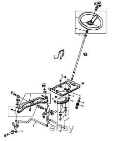 John Deere Tractor Steering Kit L110 L120 L130 G110