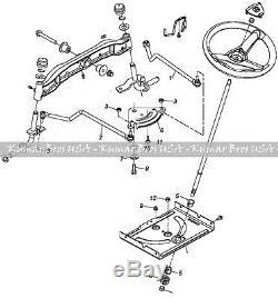 John Deere Tractor Steering Kit LA140 LA145 LA150 LA155 LA165 LA175