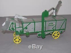 John Deere VINDEX Threshing Machine Thresher 1930's Toy OLD RARE Vintage Tractor
