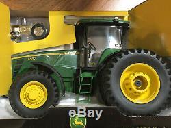 John Deere Waterloo Collector's Series 1/43 Gold 4010 & 1/16 8530 Tractors NIB