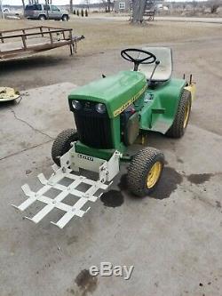 John deere garden tractor brinley guard n cart