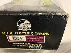 MTH PREMIER JOHN DEERE FLAT CAR With 4230 TRACTORS 20-98426! O SCALE TRAIN