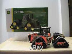 NEW 1/64 John Deere 9570RX 4wd tractor on tracks, 2016 farm show, Gold chaser