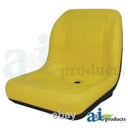 NEW LAWN / GARDEN SEAT YELLOW for John Deere LVA10029 LGT100YL