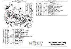 NOS John Deere TE235YT Track Drive Sprocket for John Deere MC & 40C Tractors