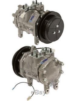 New AC A/C Compressor Fits John Deere Tractors Windrowers W / Denso 6E171 1Gr