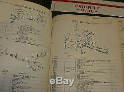OEM John Deere 2440 & 2640 Tractors Technical & Parts Manual TM-1142 & PC-1538