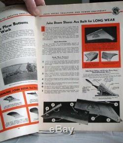 ORIGINAL 1937 John Deere Centennial Power Farming Magazine with Equipment TRACTORS