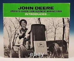 Original 1963 John Deere 110 Lawn Garden Tractor Sales Brochure 1st First Year