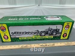 Original JOHN DEERE 8010 4WD with Plow RANTOUL 2009 Show Tractor 132 NIB RARE