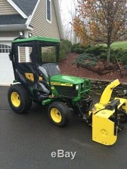 Original Tractor Cab Hard Top Enclosure For John Deere 4100 and 4110 Tractors