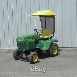 Original Tractor Cab Sunshade Fits John Deere 300 and 400 Series Lawn Tractors