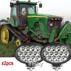 Oval 65W led work lights Spot beam Fits for John Deere Led tractor lights x2pcs