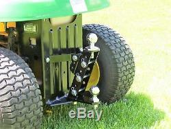P&M Fabrication Multi Position Lawn Garden Tractor Hitch John Deere